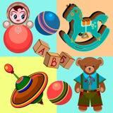 Dzieciak zabawki Obrazy Royalty Free