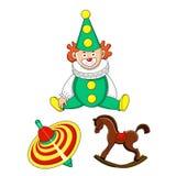 Dzieciak zabawki Obraz Royalty Free