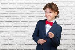 Dzieciaka biznesmen fotografia stock