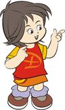 Dzieciaka charakter Fotografia Stock