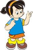 Dzieciaka charakter Zdjęcie Stock