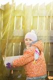 Dzieciaka chlanie obraz stock