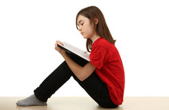 dzieciaka domowy czytanie Obraz Stock