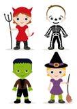 Dzieciaka halloweenowy kostium Zdjęcia Stock