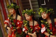 Dzieciaka japoński taniec Obrazy Royalty Free