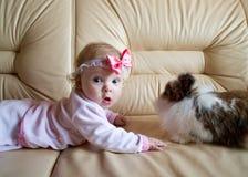 dzieciaka królik obrazy stock