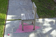 Dzieciaka krzesło Zdjęcia Stock