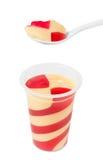 Dzieciaka mieszany pudding Zdjęcie Royalty Free