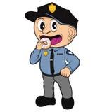 Dzieciaka policjant Obrazy Stock
