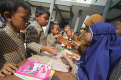 Dzieciaka rynek Dla Stażowej przedsiębiorczości Zdjęcie Royalty Free