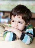 dzieciaka spęczenie Fotografia Stock