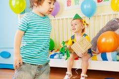 dzieciaka urodzinowy przyjęcie s Zdjęcia Stock
