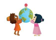 Dzieciaka świat Obraz Royalty Free