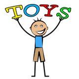 Dzieciaki Bawją się przedstawienie młodość młodzieniec I Children royalty ilustracja