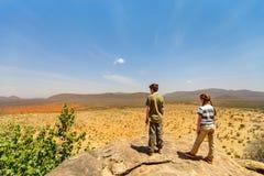 Dzieciaki cieszy się widoki w Afryka Obrazy Royalty Free