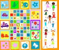 dzieciaki grają Zdjęcie Royalty Free