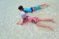 Dzieciaki na wakacje Obrazy Royalty Free