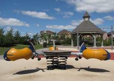 dzieciaki parkują sztuka strukturę Zdjęcia Stock