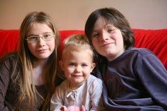 dzieciaki trzy obrazy stock