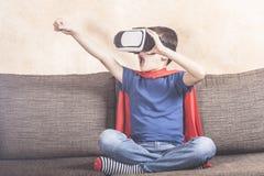 Dzieciaki używa technologii pojęcie obraz royalty free