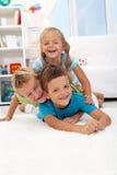 dzieciństwo szczęśliwy Zdjęcie Stock