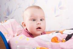 dziecka łóżko polowe Obrazy Stock