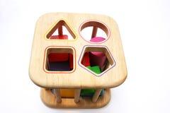 dziecka łamigłówki kształta zabawka Obrazy Royalty Free