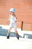 dziecka łyżwy rollerblade łyżwy Fotografia Stock