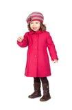 dziecka żakieta dziewczyny różowy ja target1519_0_ Obraz Stock