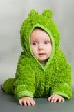 dziecka żaby strój Fotografia Stock