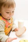 dziecka łasowanie Zdjęcie Royalty Free
