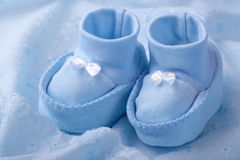 dziecka błękit łupy zdjęcia royalty free