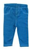 Dziecka błękita spodnia obraz royalty free