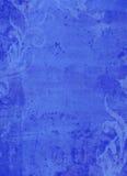 Dziecka błękita zawijasa Grunge Pudrujący tło Zdjęcia Royalty Free