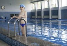 dziecka basenu sporta dopłynięcia woda Obraz Stock