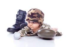dziecka battledress zdjęcie stock