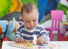 Dziecka bawić się Obrazy Royalty Free
