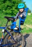 dziecka bicyklu krzesło zdjęcia stock