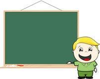 Dziecka blackboard Obrazy Stock