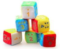 dziecka bloków liczba Zdjęcie Stock