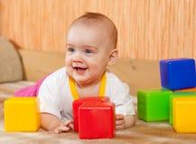dziecka bloków sztuka zabawka Zdjęcie Royalty Free