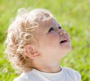 dziecka blondynów dziewczyna Zdjęcia Stock