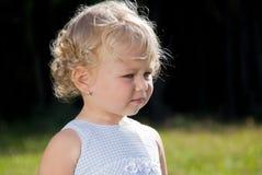 dziecka blondynów dziewczyna Obraz Stock