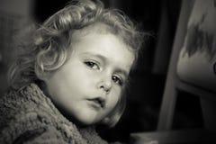 dziecka blondynów dziewczyna Zdjęcie Stock