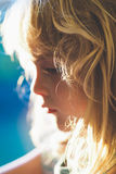 dziecka blondynów dziewczyna Obraz Royalty Free