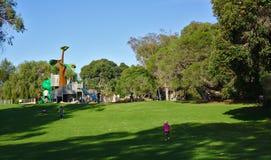 Dziecka boiska park publicznie zdjęcie royalty free
