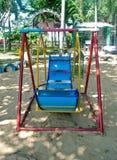 Dziecka boisko w parku fotografia stock