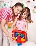 dziecka budowy sztuka pokoju set Fotografia Stock