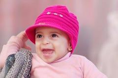 dziecka butelki dziewczyna zdjęcie royalty free
