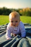 dziecka czołganie Zdjęcie Stock